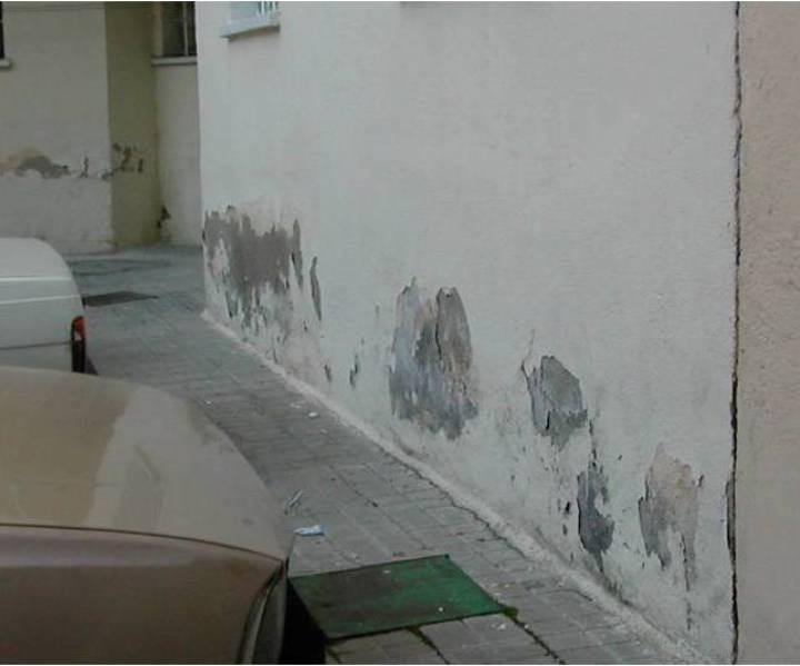humedad en muros